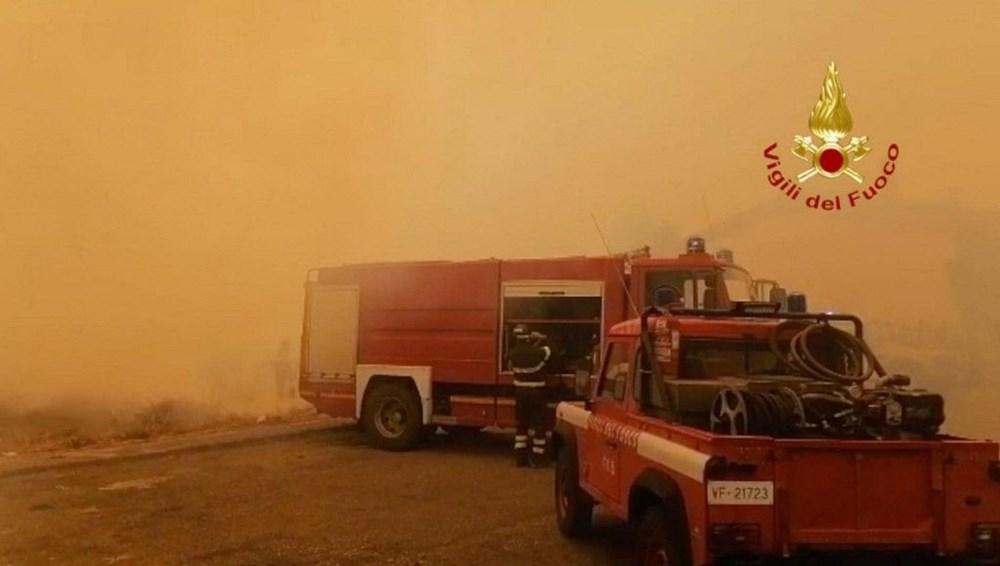 'Benzeri görülmemiş felaket': İtalya Sardunya Adası'nda yangın - 5