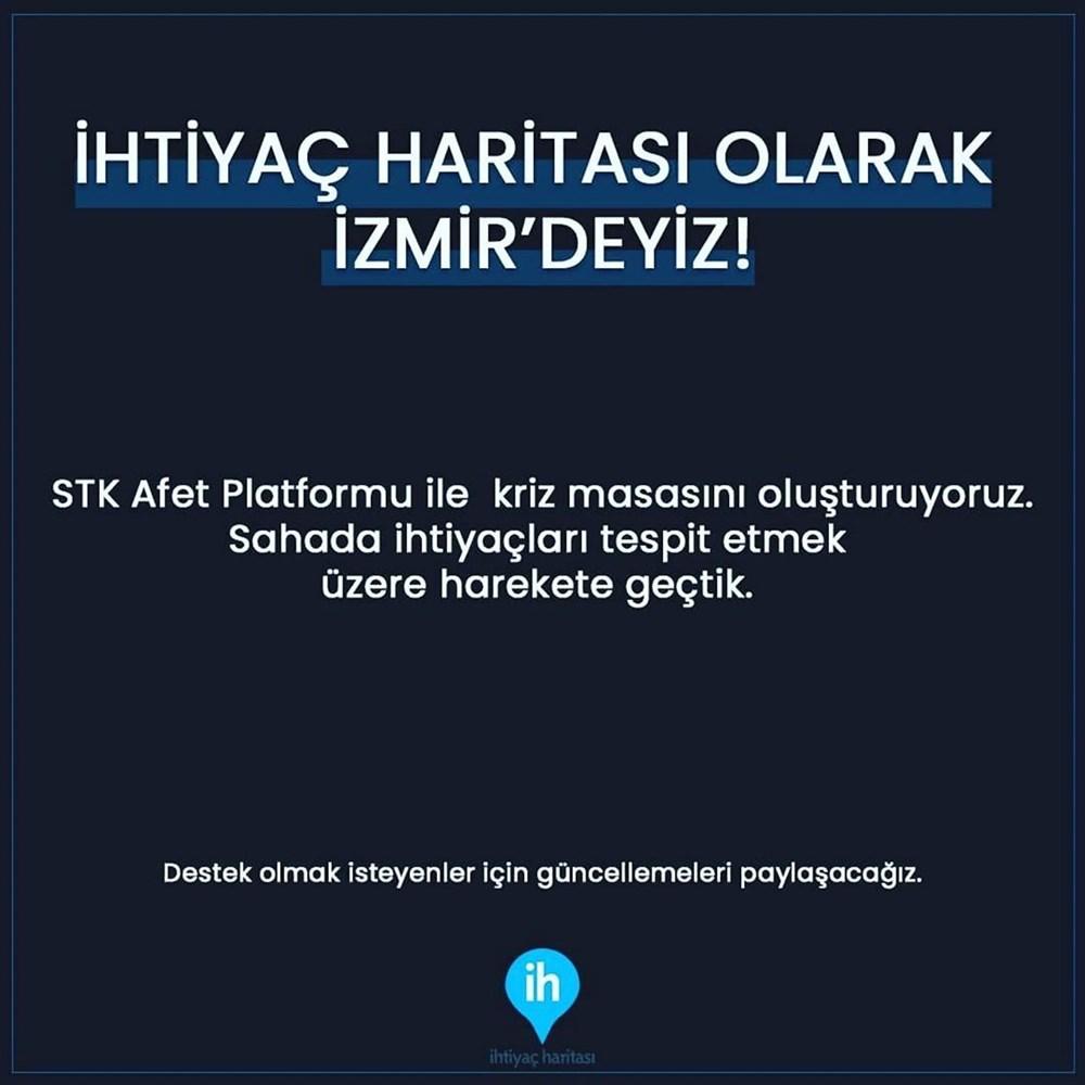 Ünlü isimlerden İzmir'e destek mesajları - 8