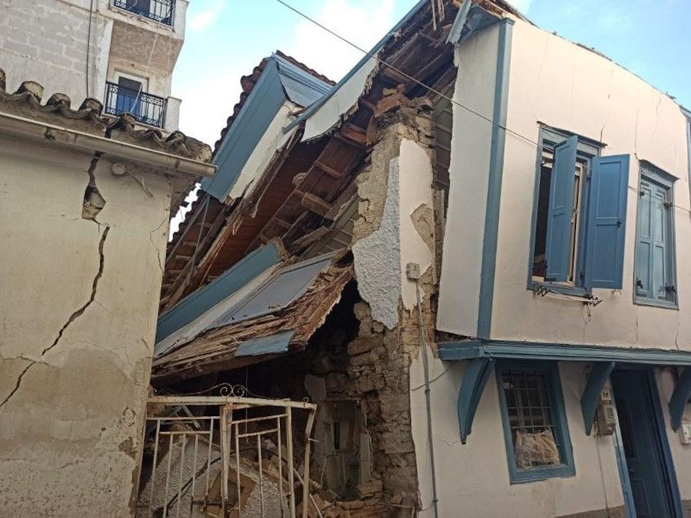Depremin merkez üssü Yunan adası Sisam'dan ilk fotoğraflar - 3