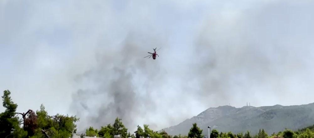 Yunanistan'da yangın: Atina'daki evleri tehdit ediyor - 5