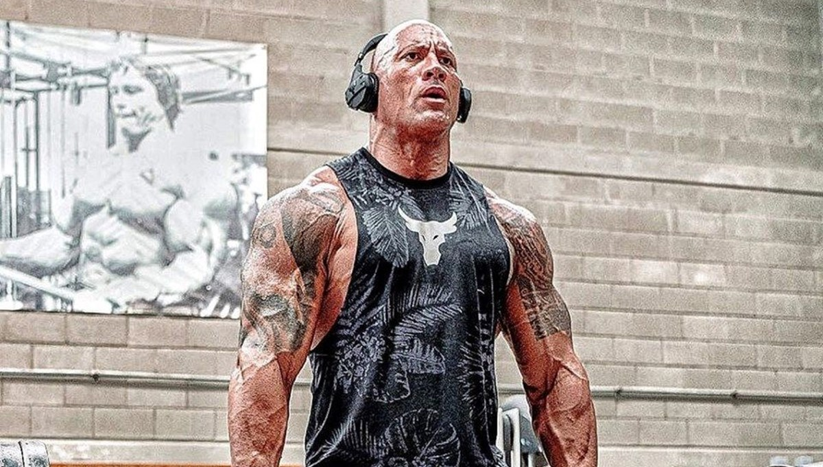 Dwayne 'The Rock' Johnson'ın  yeni dövmesinin yapımı 30 saat sürdü