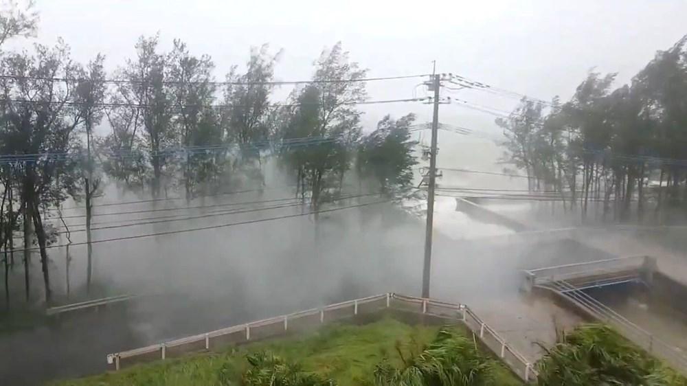 Japonya'da Haişen tayfunu nedeniyle 8 milyonu aşkın kişinin tahliyesi istendi - 4