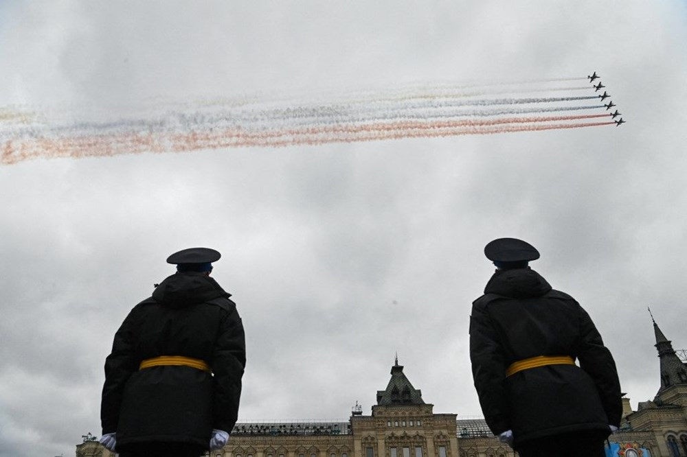 Rusya'da Zafer Günü kutlamaları: Moskova'da askeri geçit töreni - 9