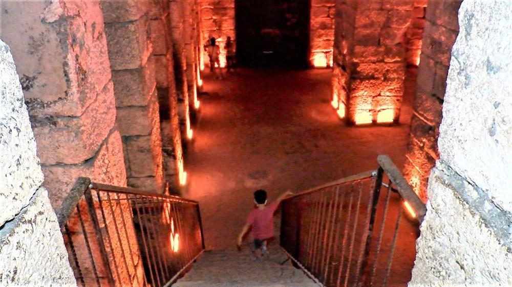 Dara Antik Kenti'nde ortaya çıkarılan sarnıç Yerebatan'dan daha derin - 4
