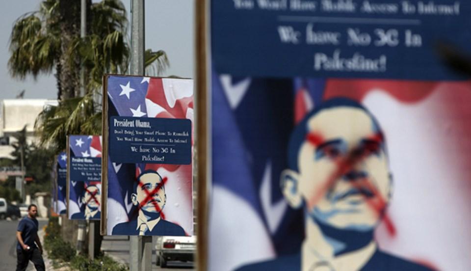 ABD Başkanı Obama, Filistin'in Ramallah kentini de ziyaret edecek.