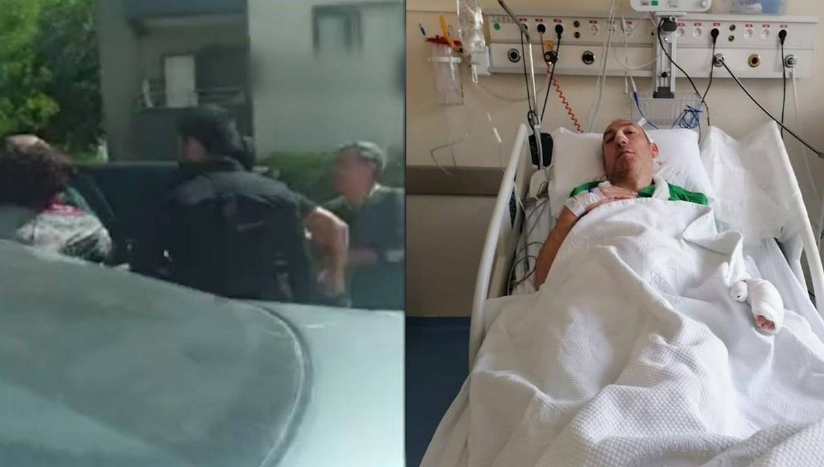 Gürültü kavgasında profesör hastanelik oldu (Saldırgan komşu tutuklandı)