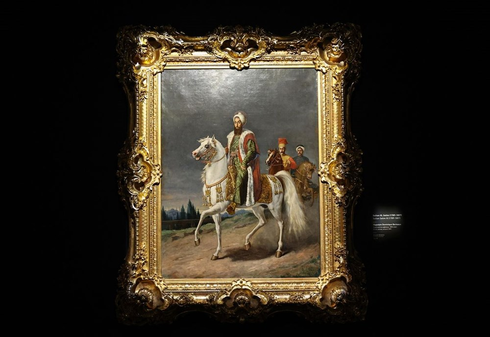 553 eser Osmanlı saray resminin tek temsilcisi Milli Saraylar Resim Müzesi'nde - 14