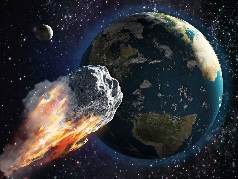 Dünya, şehir büyüklüğündeki onlarca asteroit tarafından bombalandı