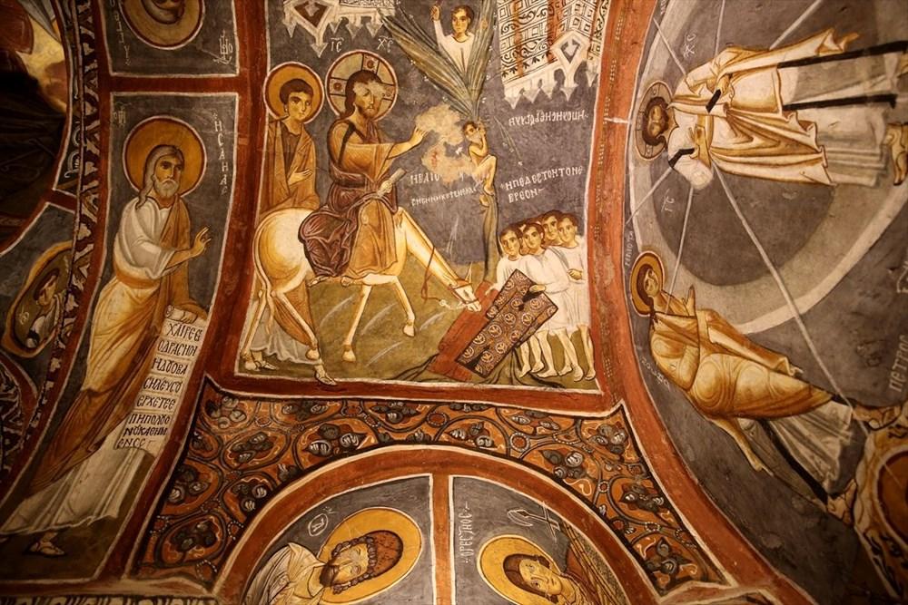 Karanlık Kilise'nin freskleri ile bin yıl öncesine yolculuk - 13