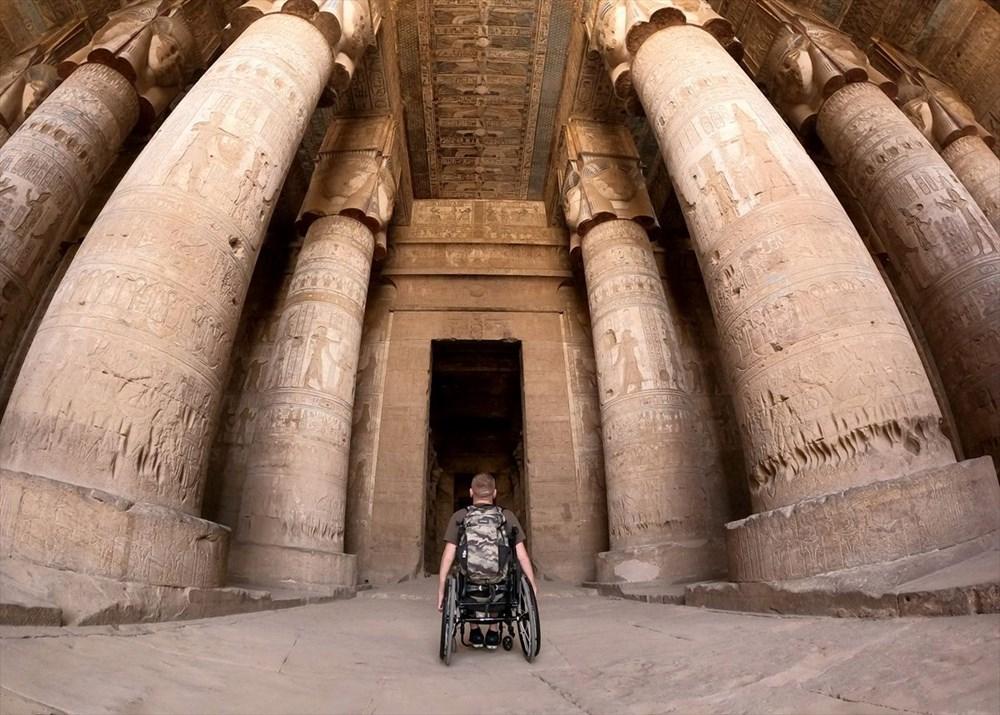 Gezme aşkı engel tanımadı: Hırvat seyyah, tekerlekli sandalyesiyle dünyayı geziyor - 11