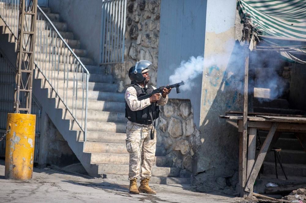 Haiti'de hükümet karşıtı protestolara sert müdahale - 6