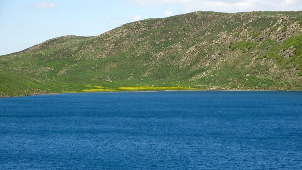 Muş'ta Hamurpet Gölleri görenleri doğasıyla mest ediyor - 7