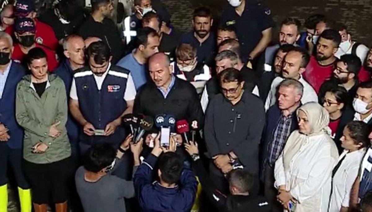 İçişleri Bakanı Soylu: Kastamonu'da 62, Sinop'ta 15 kayıp ihbarı var