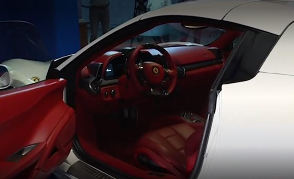 Tosuncuk'un Uruguay maceraları 3: Başını yakan Ferrari'nin görüntüleri ortaya çıktı - 11