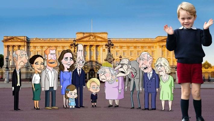 Kraliyet ailesi animasyon dizisi oluyor
