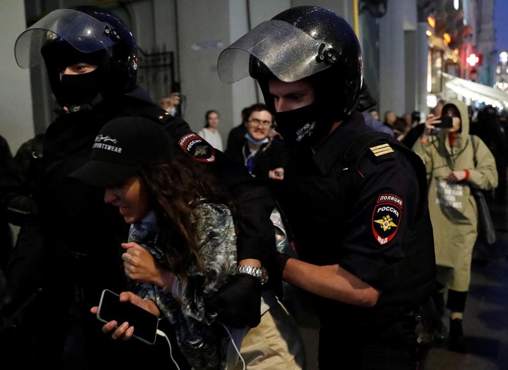 Rusya'da Putin karşıtı protesto: 130 gözaltı - 2