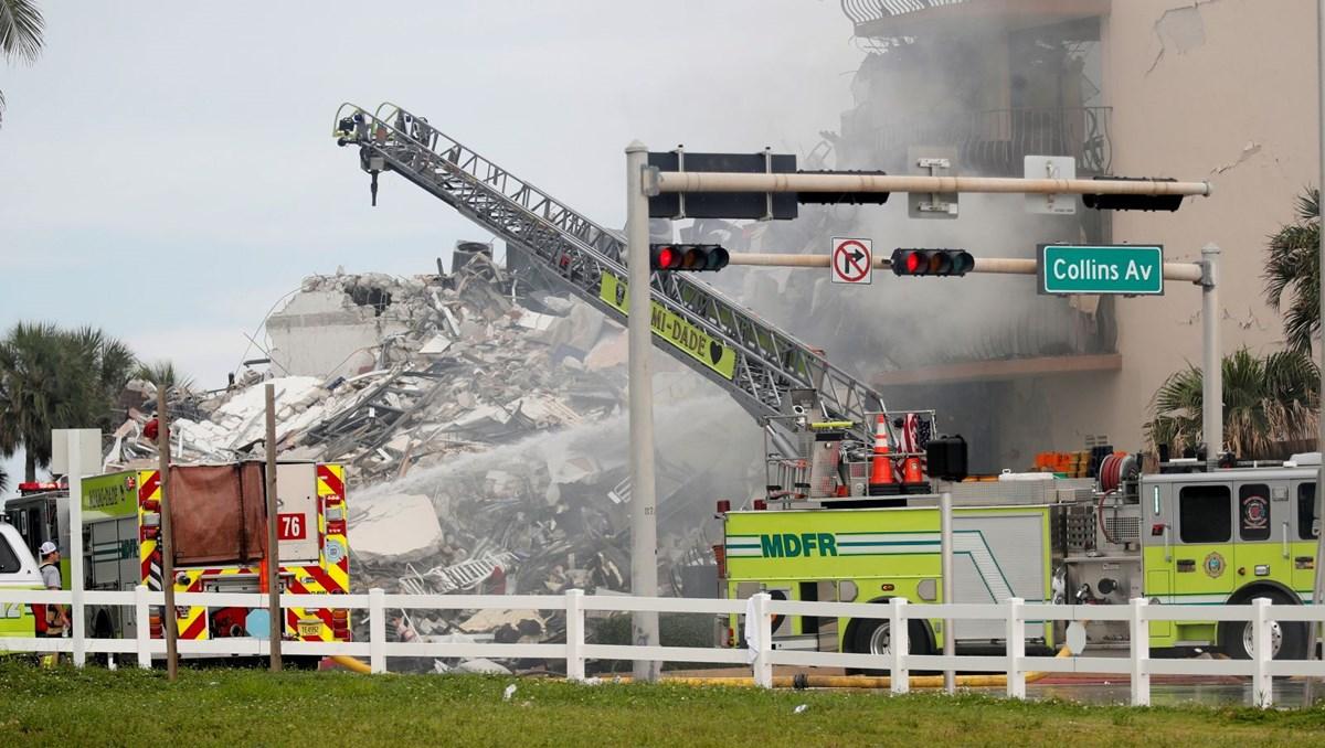 ABD'de çöken bina: Can kaybı 5'e yükseldi, 156 kişi kayıp (Bina raporu ortaya çıktı)