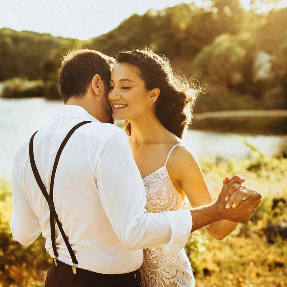 Emre Karayel ve Gizem Demirci evlendi - 2