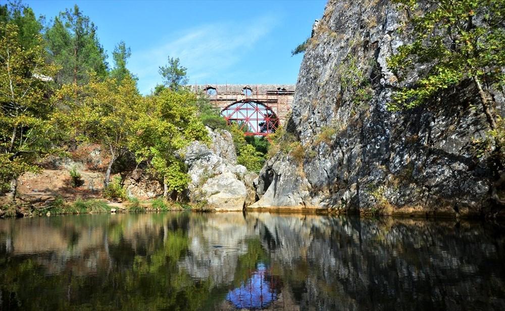 Troya'nın 3 bin 500 yıllık su kemeri restore ediliyor - 3