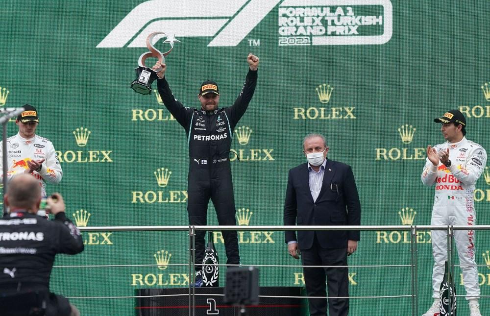 Formula 1 Türkiye Grand Prix'sinde kazanan Valtteri Bottas - 4