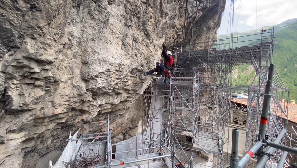 Sümela Manastırı'nın 5 yıllık restorasyon serüveni - 16