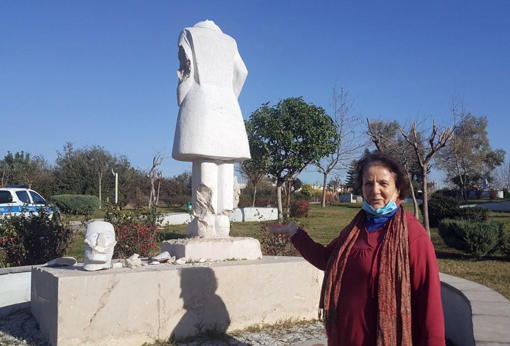 Antalya'da heykel saldırıları devam ediyor - 6
