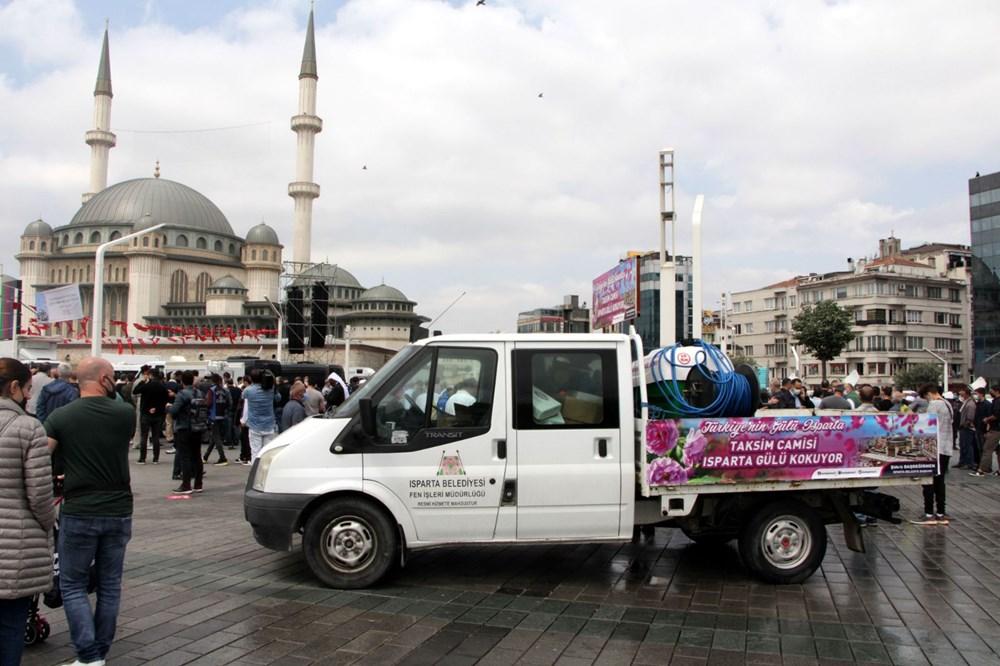 Taksim Camii için açılış hazırlıkları: Isparta'dan 25 ton gül suyu - 9