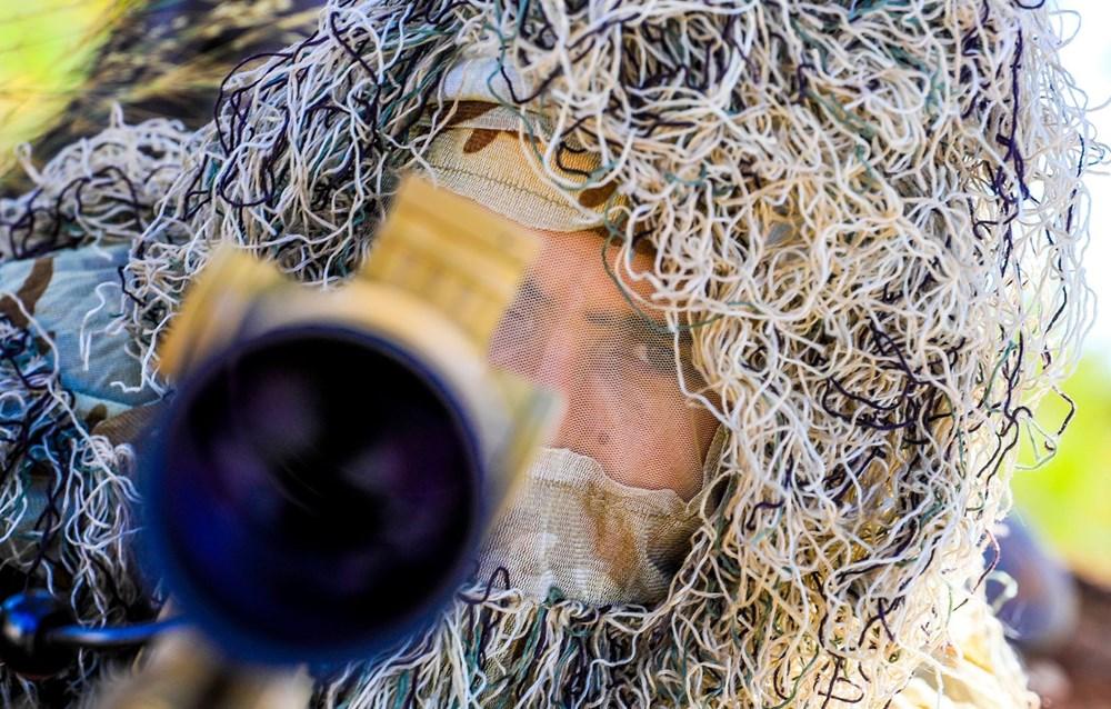 Özel Harekat'tan 35 derece sıcakta zorlu eğitim: Yerli silah 'Çılgın kız' dikkat çekti - 11