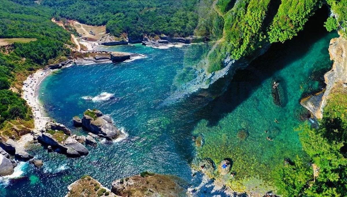 Kocaeli'nde görmeniz gereken 3 cennet köşe: Sardala Koyu, Pembe Kayalar ve Cennet Havuzu