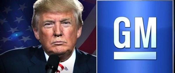 Trump'tan General Motors'a teşvik kesme tehdidi