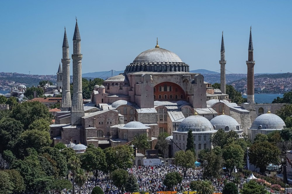 Ayasofya-i Kebir Camii Şerifi ibadete açıldı (Ayasofya'da 86 yıl sonra ilk namaz) - 24