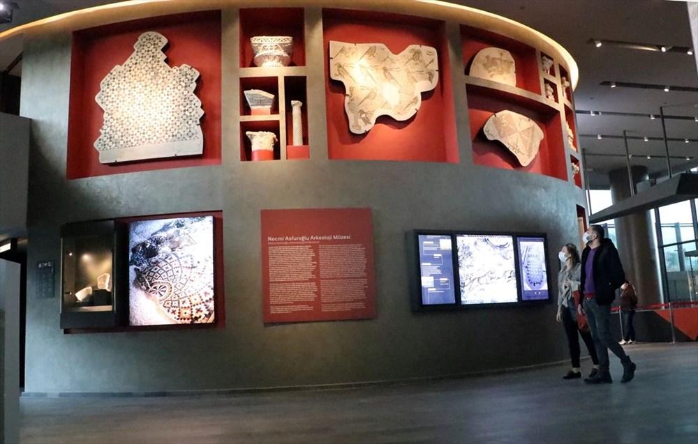 Hatay'da beş dönemin izlerini taşıyan Necmi Asfuroğlu Arkeoloji Müzesi ziyaretçilerini zaman yolculuğuna çıkarıyor - 2