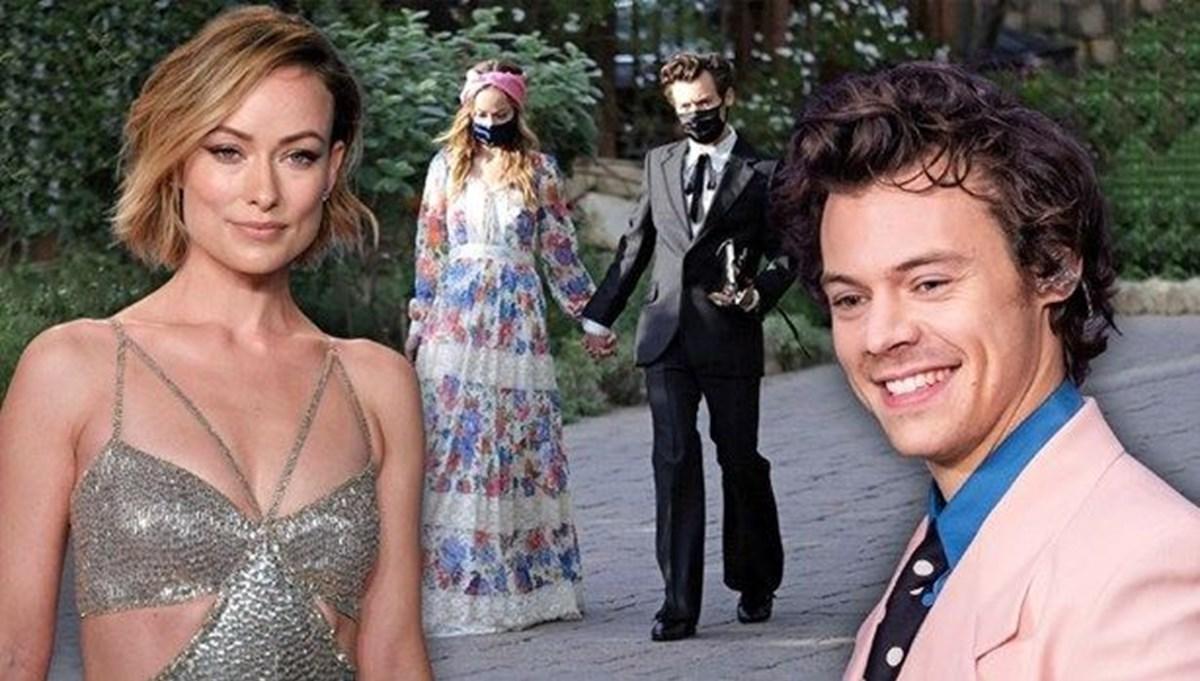 Olivia Wilde, Harry Styles'ı övdü: Alçakgönüllülük ve zarafetle öne atladı