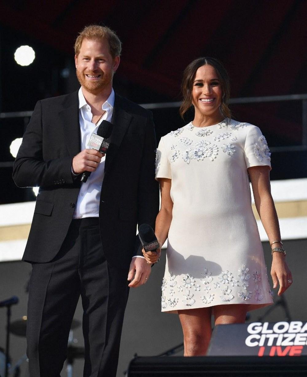 Meghan Markle ve Prens Harry Global Citizen etkinliğinde alay konusu oldu - 4