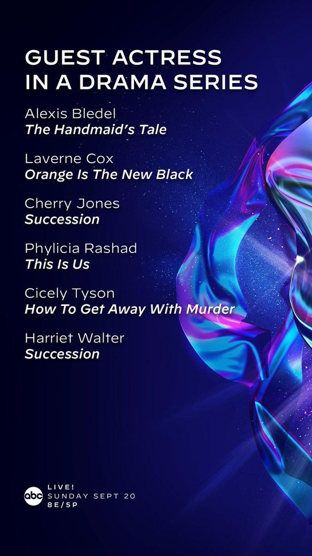 72. Emmy Ödülleri 2020 adayları belli oldu - 14