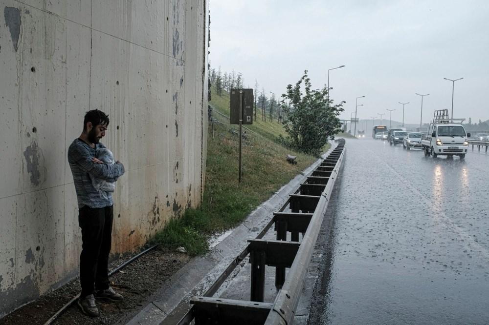 İstanbul'da şiddetli yağış ve dolu - 3