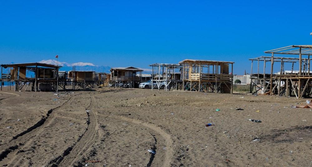 Lüks tatilin bedavaya sunulduğu 'Çardak Beach' çöplük oldu - 7