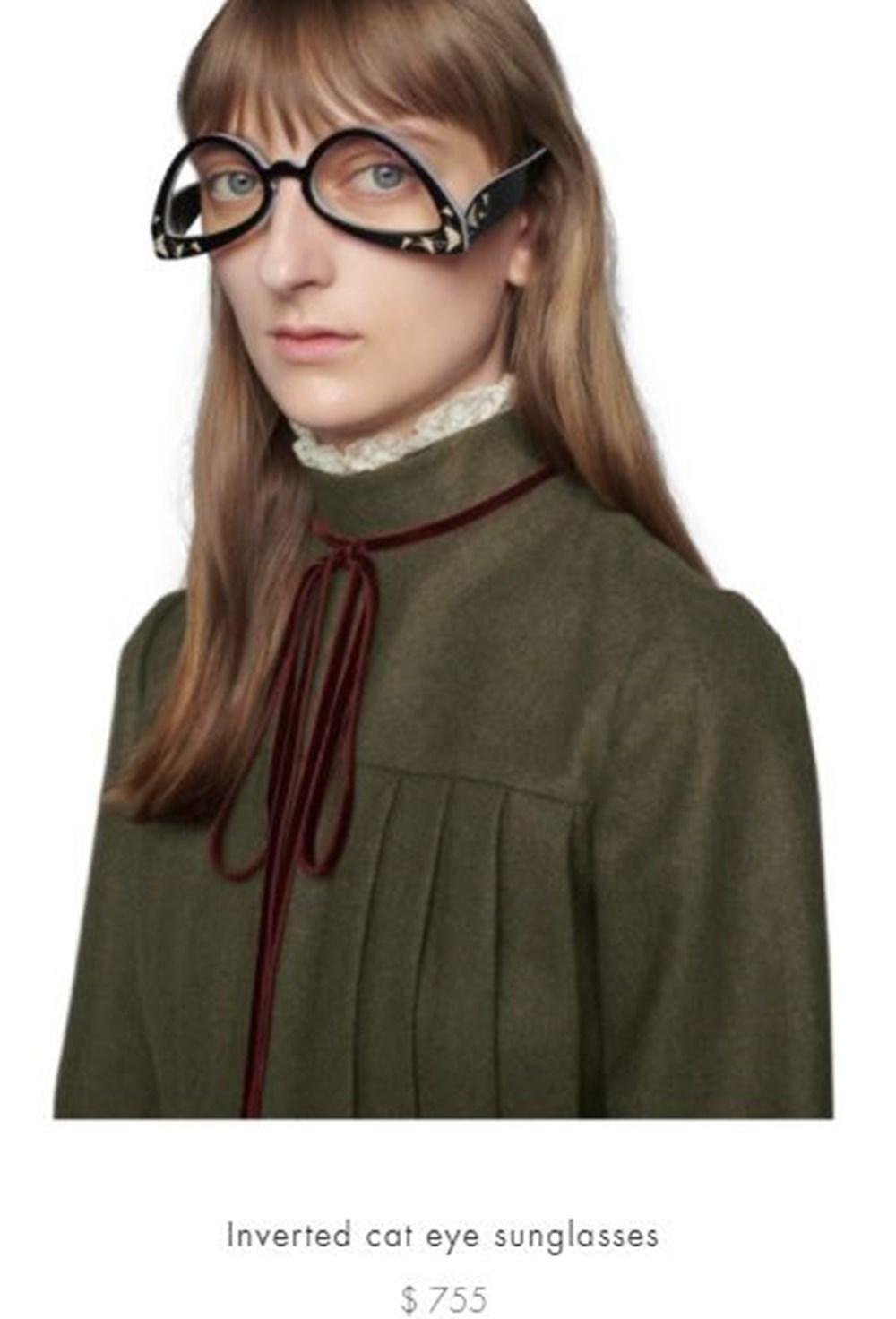 "Gucci'nin 5 bin liralık ""ters"" gözlüğü alay konusu oldu - 5"