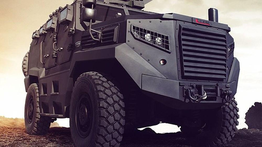 Dijital birliğin robot askeri Barkan göreve hazırlanıyor (Türkiye'nin yeni nesil yerli silahları) - 166