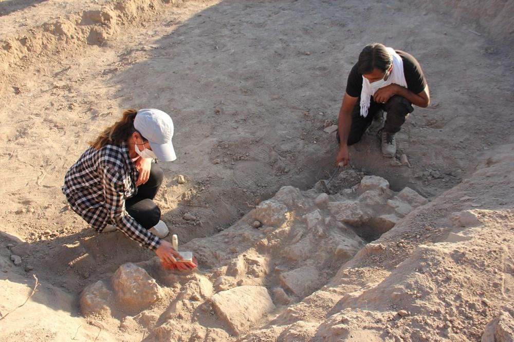 Adıyaman'daki Perre Antik Kent'teki kazılarda 9 adet üzüm işliği bulundu - 3