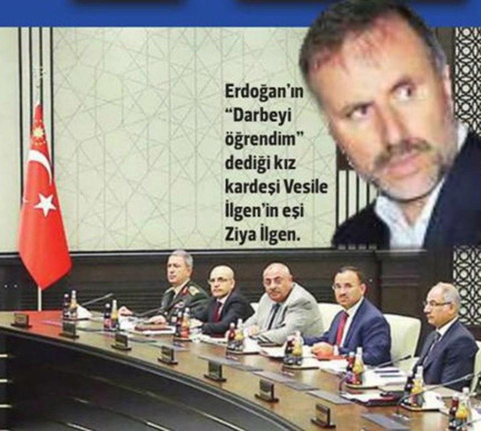 Cumhurbaşkanı Erdoğan'ın eniştesi Ziya İlgen (Hürriyet gazetesinden)