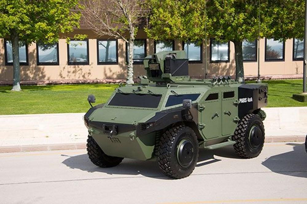 Dijital birliğin robot askeri Barkan göreve hazırlanıyor (Türkiye'nin yeni nesil yerli silahları) - 195