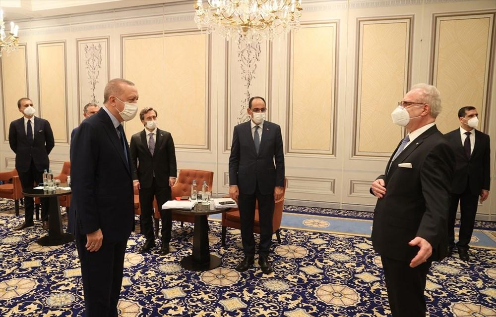 Cumhurbaşkanı Erdoğan Brüksel'de - 6