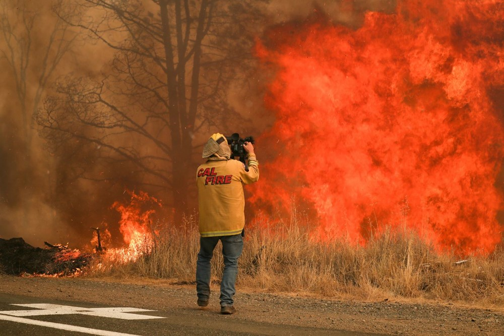 California'da 8 bin kilometrekare alan yandı, rekor kırıldı - 10