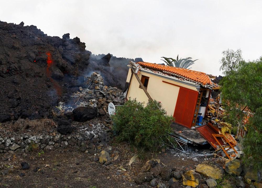 Kanarya Adaları'nda aktif hale gelen yanardağda patlamaların şiddeti arttı - 8