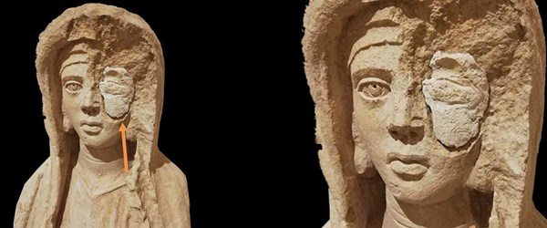 Roma heykeli 'kaçakçı dolgusu'yla sergilenmeli mi? (Alay konusu oldu)