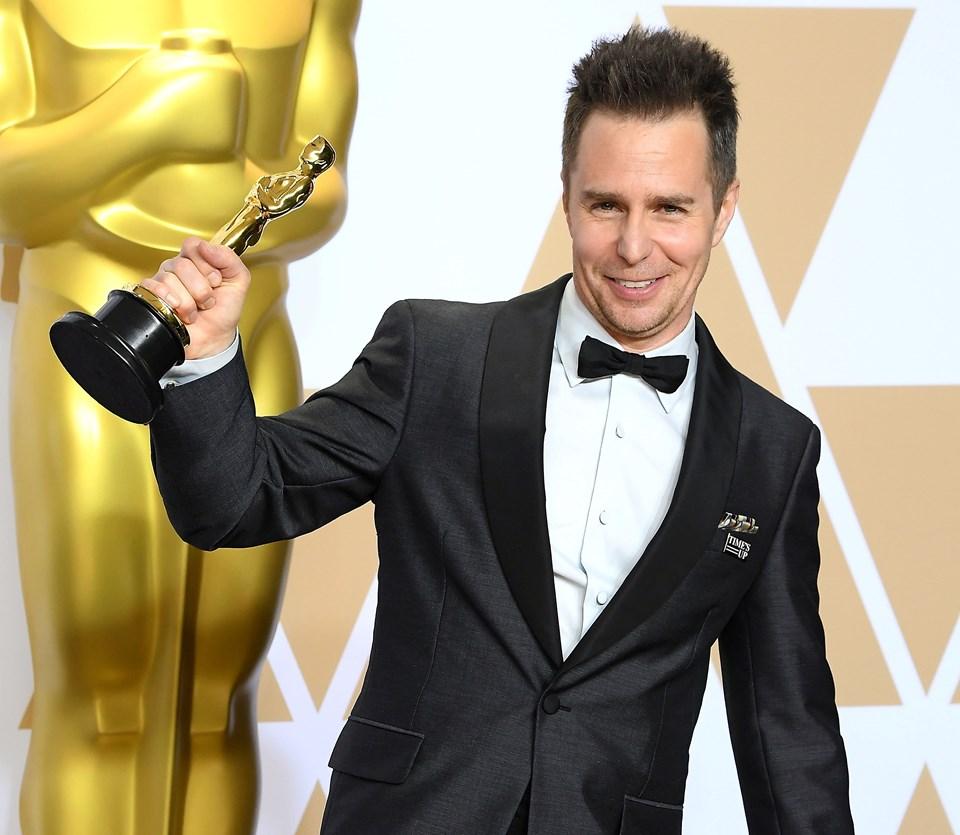 Sam Rockwell, Üç Billboard Ebbing Çıkışı, Missouri filmindeki performansıyla 2018'de En İyi Erkek Oyuncu Oscar'ını kazandı.