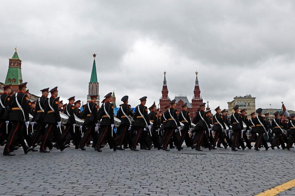Rusya'da Zafer Günü kutlamaları: Moskova'da askeri geçit töreni - 14