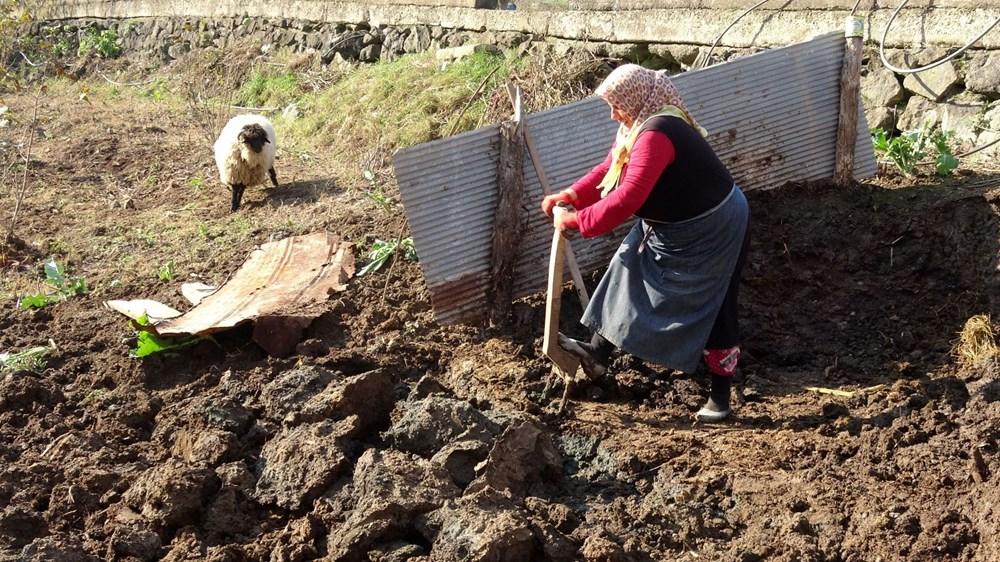 Karadeniz'in çalışkan kadınları: Köy toplansa evde tutamaz - 17
