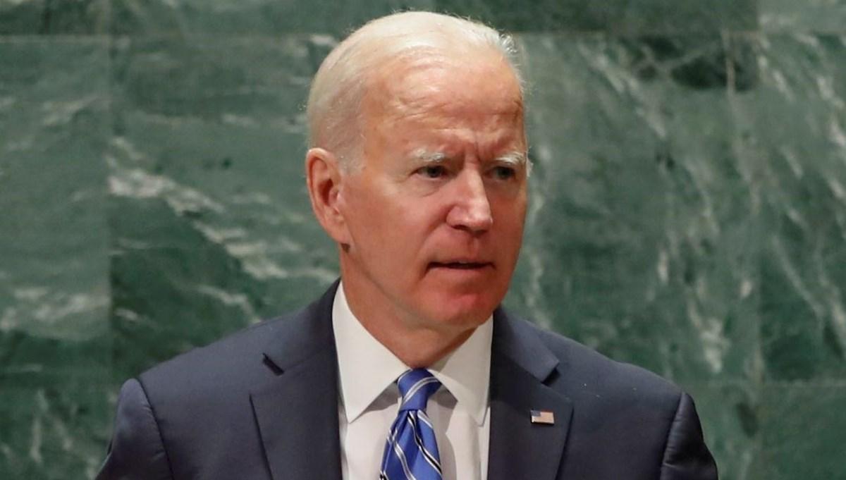 ABD Başkanı Biden BM Genel Kurulu'nda konuştu